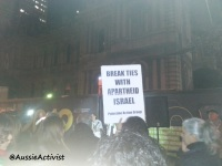 Break Ties with Apartheid Israel @AussieActivist