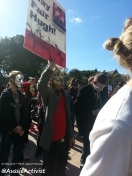 Anonymous March Against Monsanto, Sydney - @AussieActivist