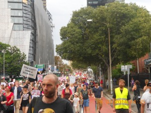 Sydney Rally Crowd