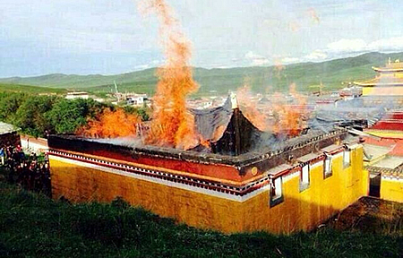 Taksta Monastery Gutted By 'Mysterious' Fire